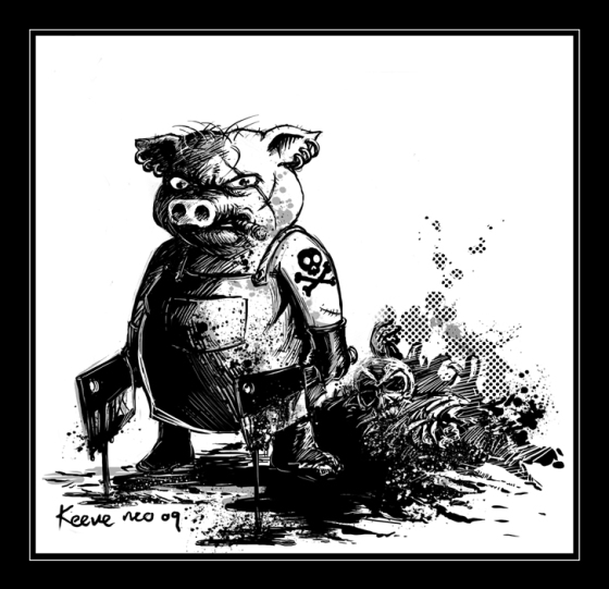 Killer-Swine-bw