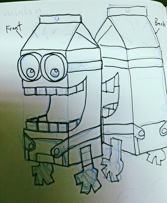minion-sketch